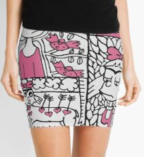 "Helga ""Frida Kahlo"" Pataki  Mini Skirt"