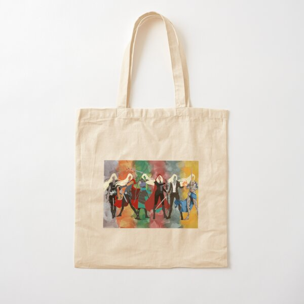Throne of Glass Series Watercolor Cotton Tote Bag