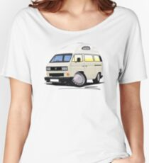 VW T25 / T3 [SQ] (High Top) White Women's Relaxed Fit T-Shirt
