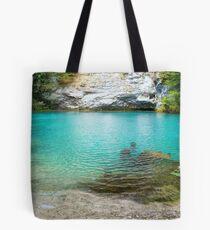 Sochi's Blue Lake Tote Bag