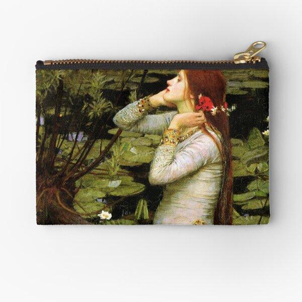 Ophelia 1894 - John William Waterhouse Zipper Pouch