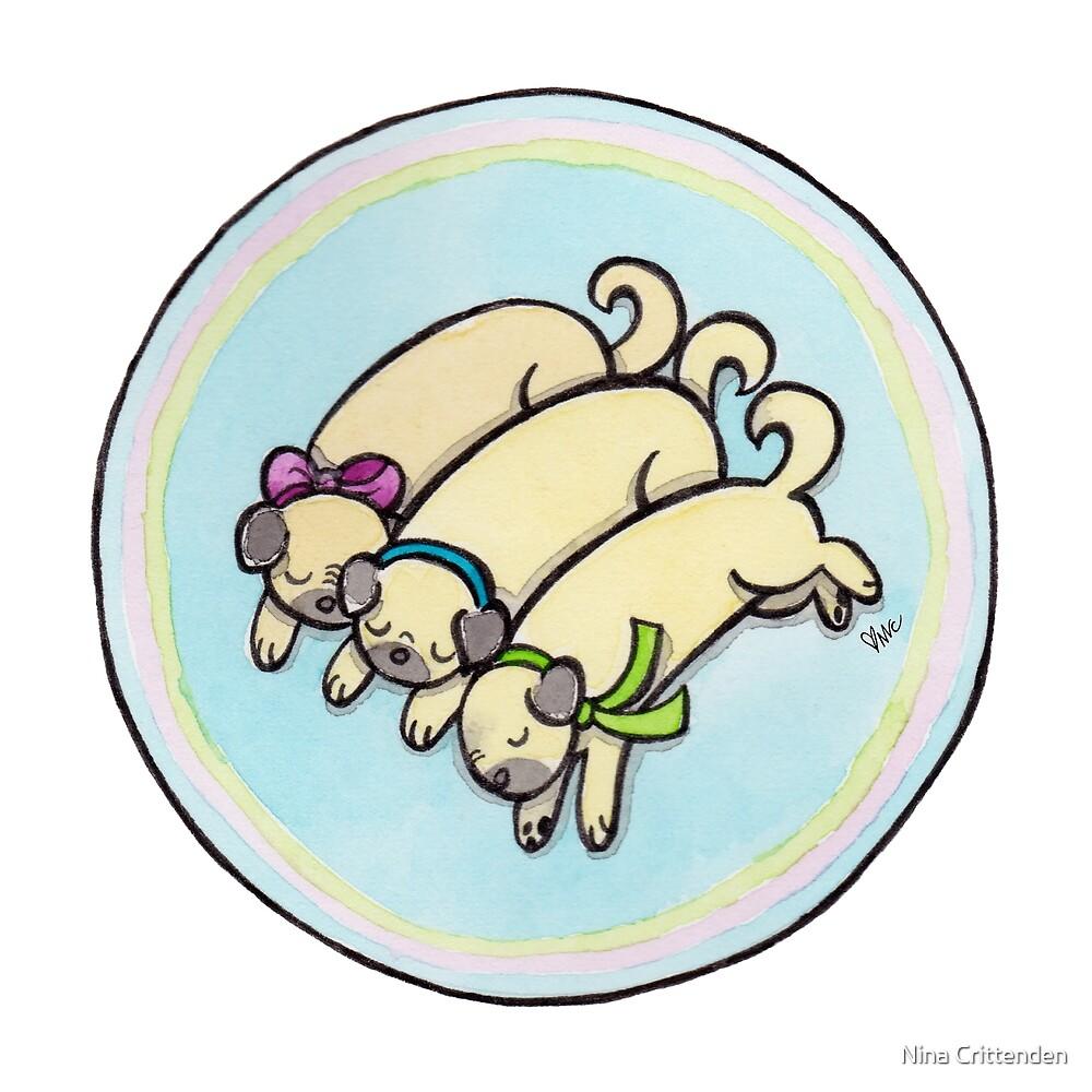 Snug as a Pug on a Rug by Nina Crittenden