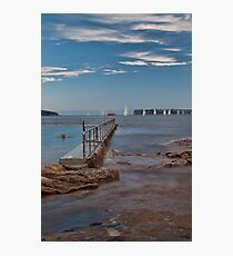 Tranquil Afternoons - Fairlight Pool Photographic Print