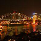 Sydney Harbour Lights by Michael Matthews