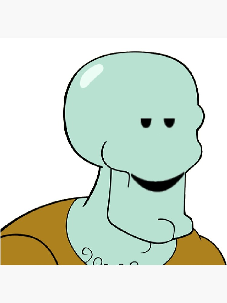 Roblox Squidward Greeting Card By Cassidylund Redbubble