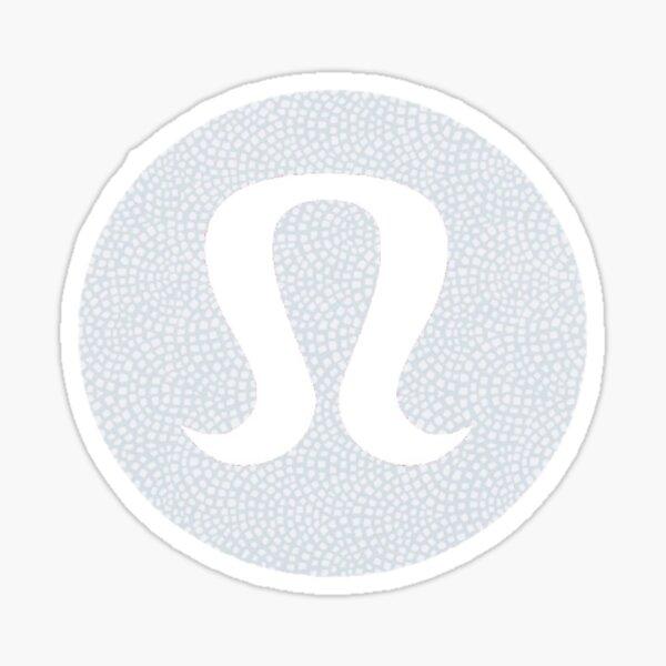 Lululemmon sticker Sticker