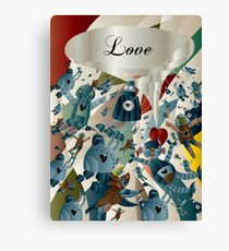 All we need is LOVE Canvas Print