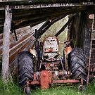 Aussie Tractor Shed.....let down your umbrella by grannyshot