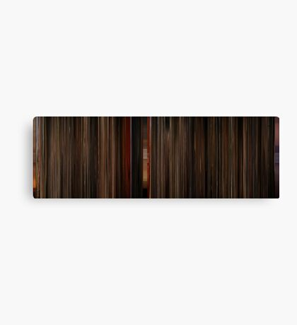 Moviebarcode: Gone with the Wind (1939) Canvas Print