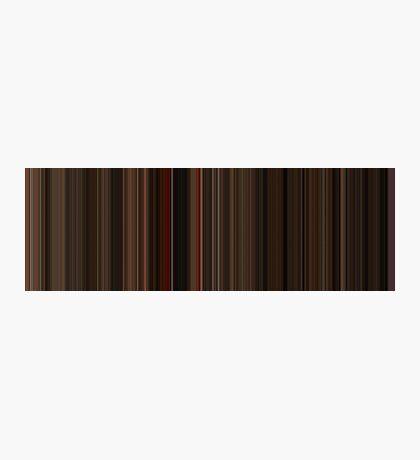 Moviebarcode: Gone with the Wind (1939) [Simplified Colors] Photographic Print