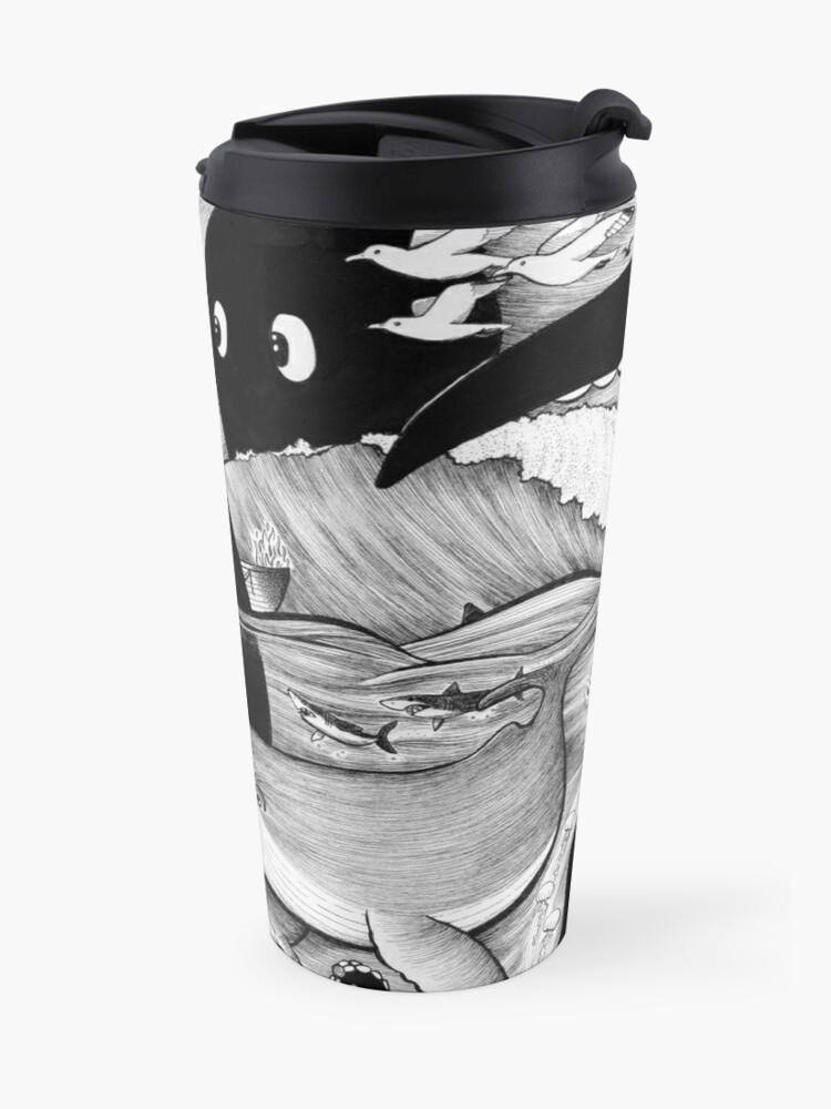 Alternate view of Pirate's Peril Travel Mug