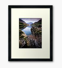 River Etive towards Ben Starav  Framed Print
