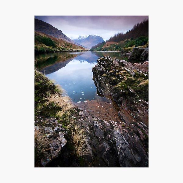 River Etive towards Ben Starav  Photographic Print