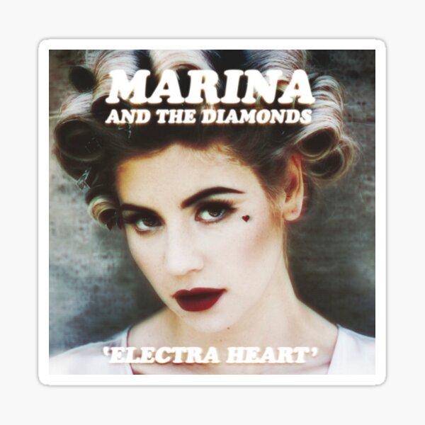 Marina and the Diamonds Electra heart album cover Sticker