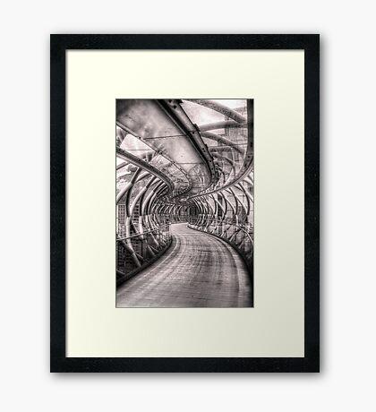 Abstract Bridge Framed Print