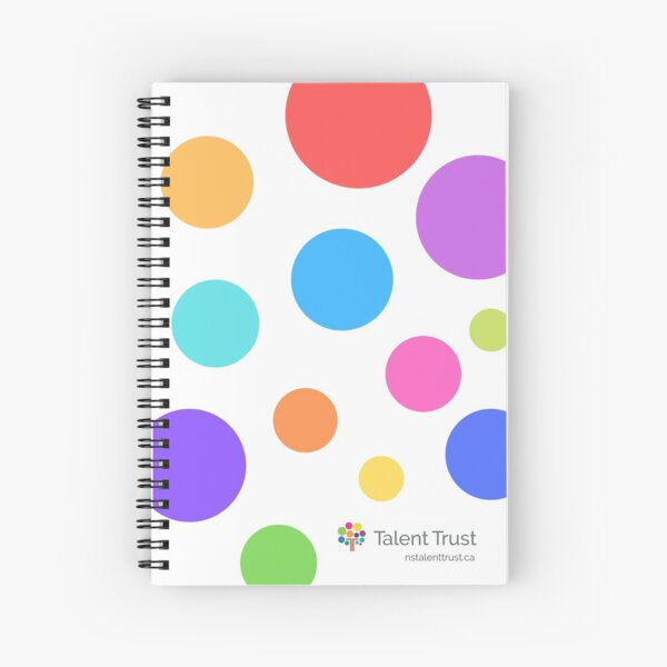Nova Scotia Talent Trust - Take Creative Notes Spiral Notebook