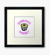 Cupcake Addict  Framed Print