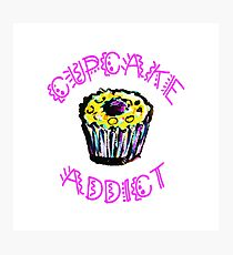 Cupcake Addict  Photographic Print