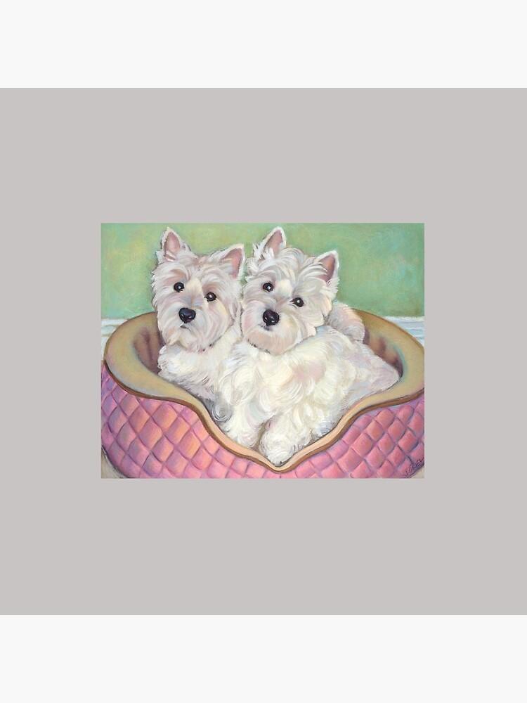 Westie Twins by Janeoooo