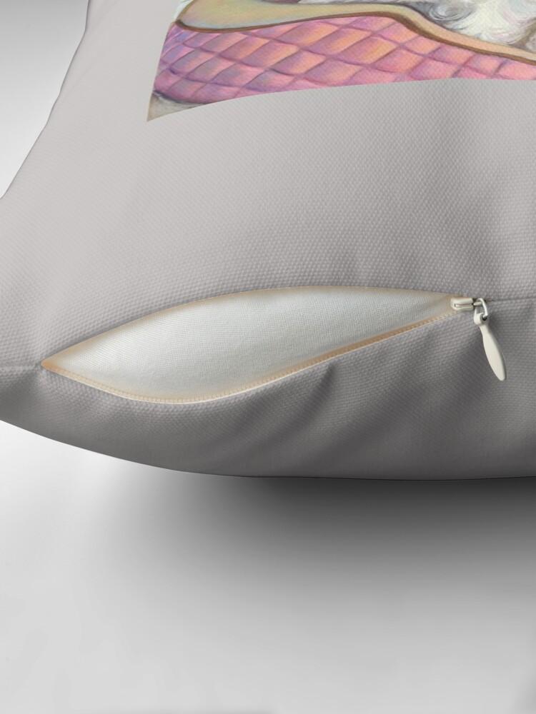 Alternate view of Westie Twins Throw Pillow