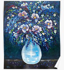 Spring Bouquet - oil painting Poster