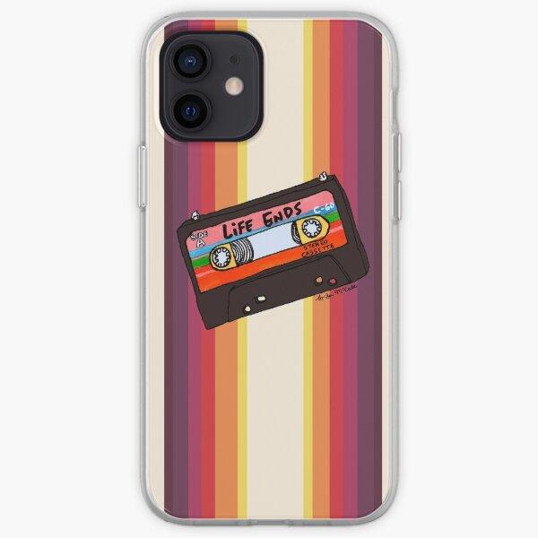 depressing mixtape iPhone Soft Case