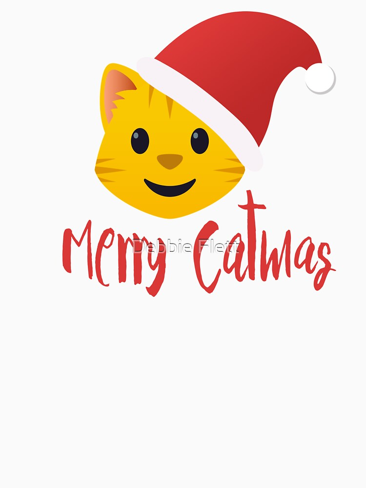 Merry Catmas emoji by lucythecow