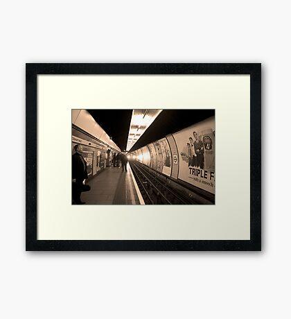 Sepia Series Number 3 Framed Print
