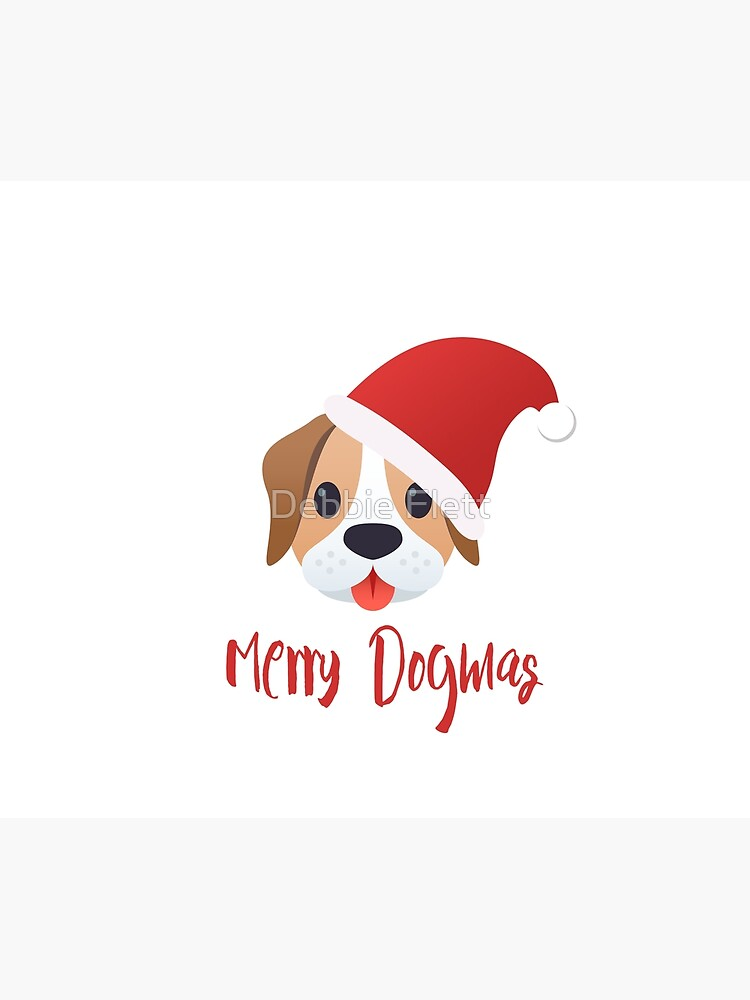 Merry Dogmas emoji by lucythecow