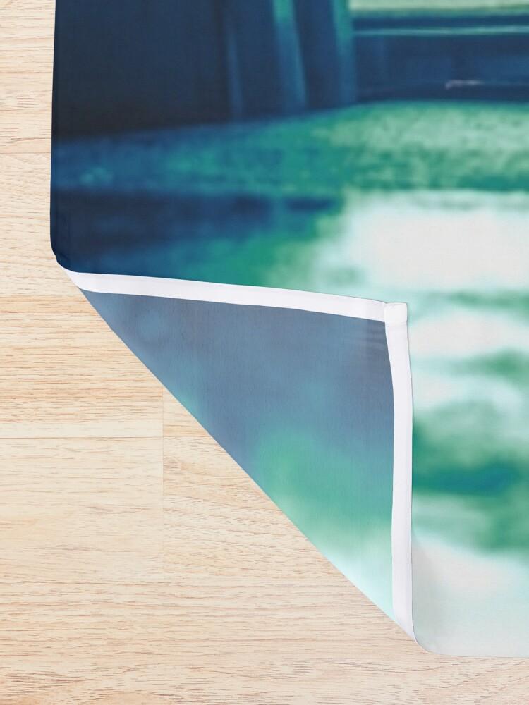 Alternate view of Film Noir Tokyo Shower Curtain