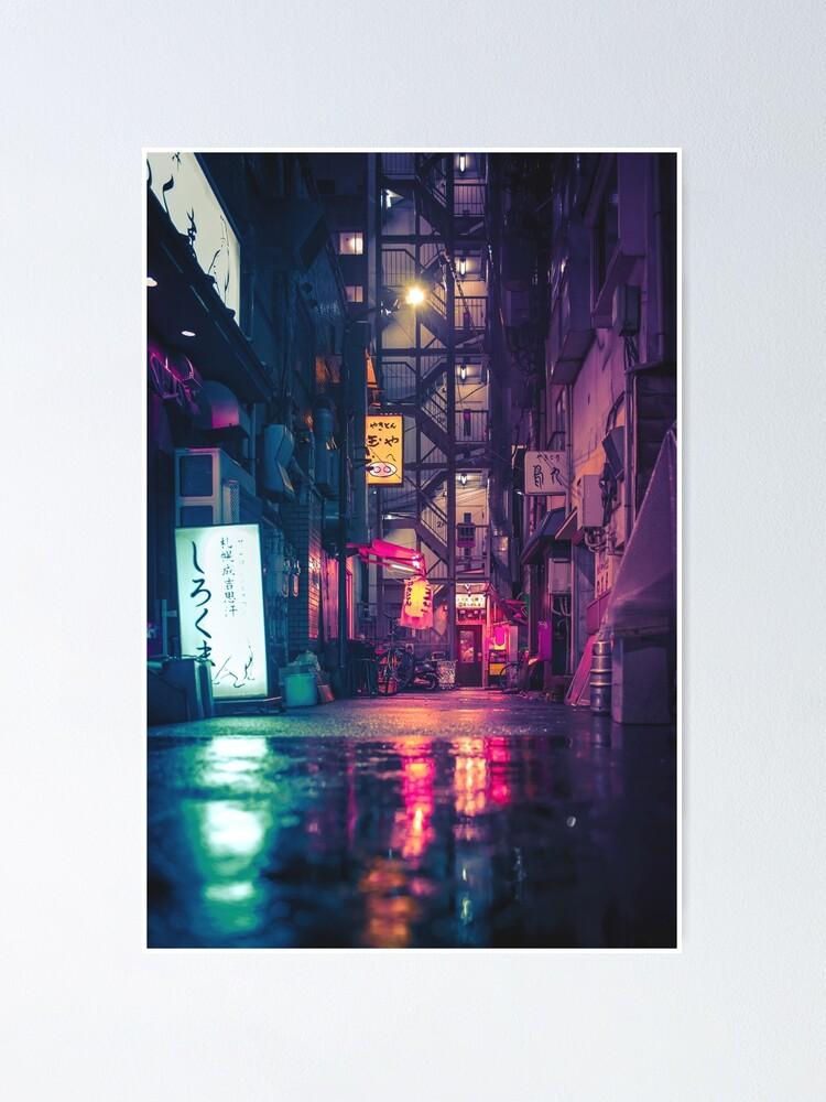 Alternate view of Film Noir Tokyo Poster