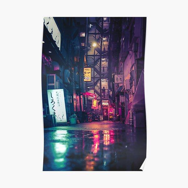 Film Noir Tokyo Poster