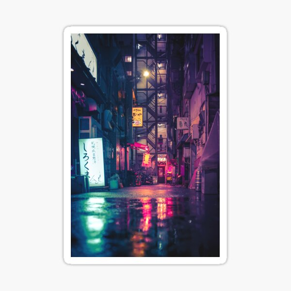 Film Noir Tokyo Sticker