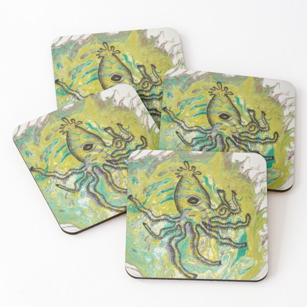 Who's your Kraken? Coasters (Set of 4)