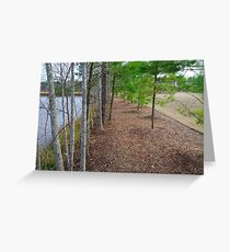 Fancy Cary Suburb landscape Greeting Card