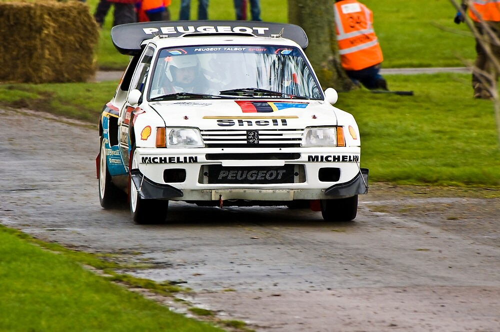 Peugeot 205 T16 by Willie Jackson