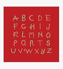 ABC Lollipops Photographic Print