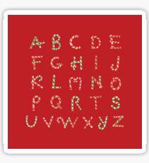 ABC Lollipops Sticker