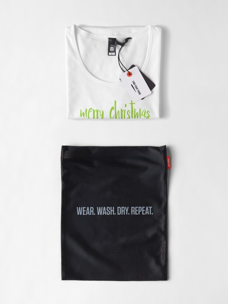 Alternate view of merry christmas, i come in peace Premium Scoop T-Shirt