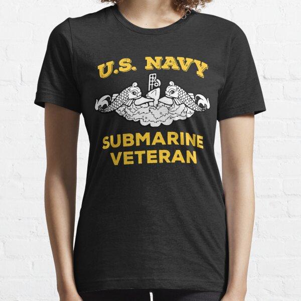 US Navy Submarine Silent Service Veteran Insignia - Balsamic Balance Essential T-Shirt