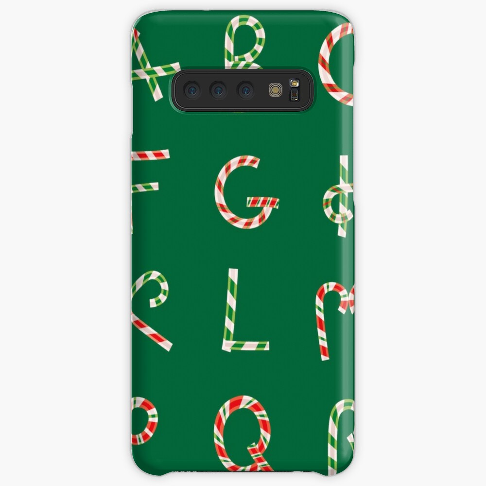 Christmas ABC Lollipops  Samsung Galaxy Snap Case