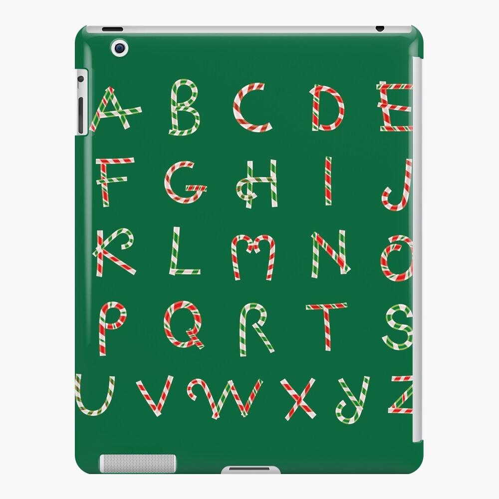 Christmas ABC Lollipops  iPad Snap Case