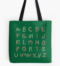 Christmas ABC Lollipops  Tote Bag