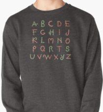 Christmas ABC Lollipops  Pullover Sweatshirt