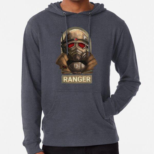 Fallout New Vegas: Logotipo del guardabosques Sudadera ligera con capucha