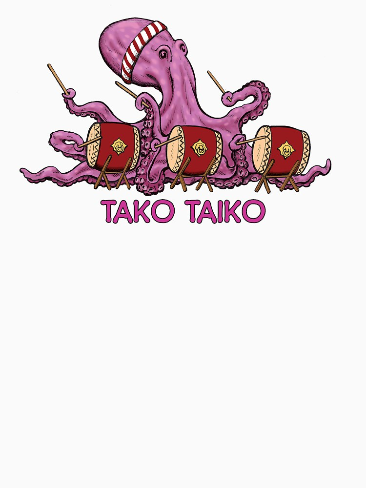 Tako Taiko - Musical Multi-Limbed Mollusk by DancingPencil