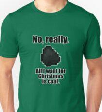 Minecraft - Christmas Coal T-Shirt