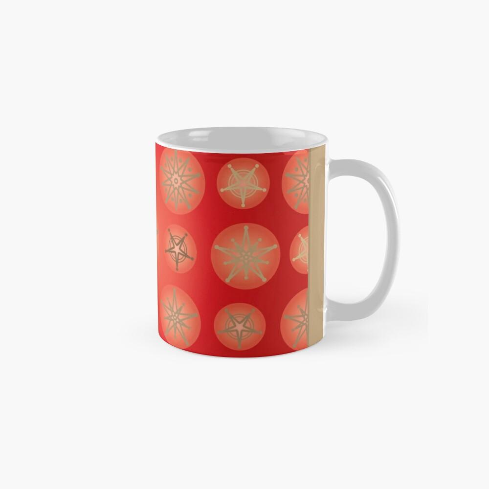 Christmas - Golden Stars Classic Mug