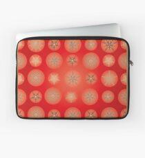 Christmas - Golden Stars Laptop Sleeve