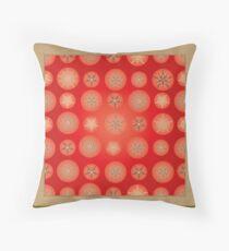 Christmas - Golden Stars Floor Pillow